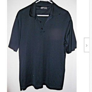 Nike Golf Fit Dry Polo Men's Size L Dark Blue